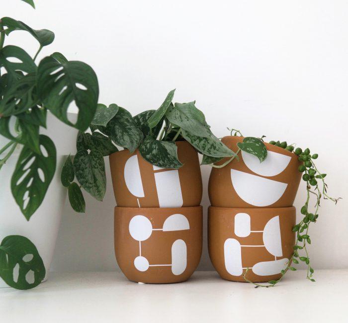 cache-pots pour plantes vertes